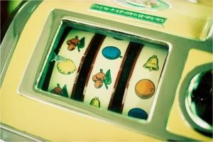 Image of a slot machine