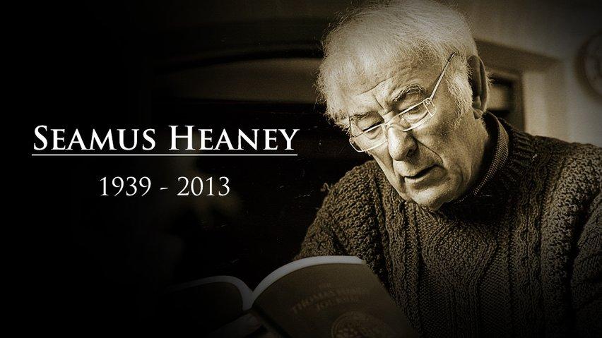Seamus Heaney RIP